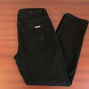 NWOT Michael Kors Dillon Relaxed Black Jeans